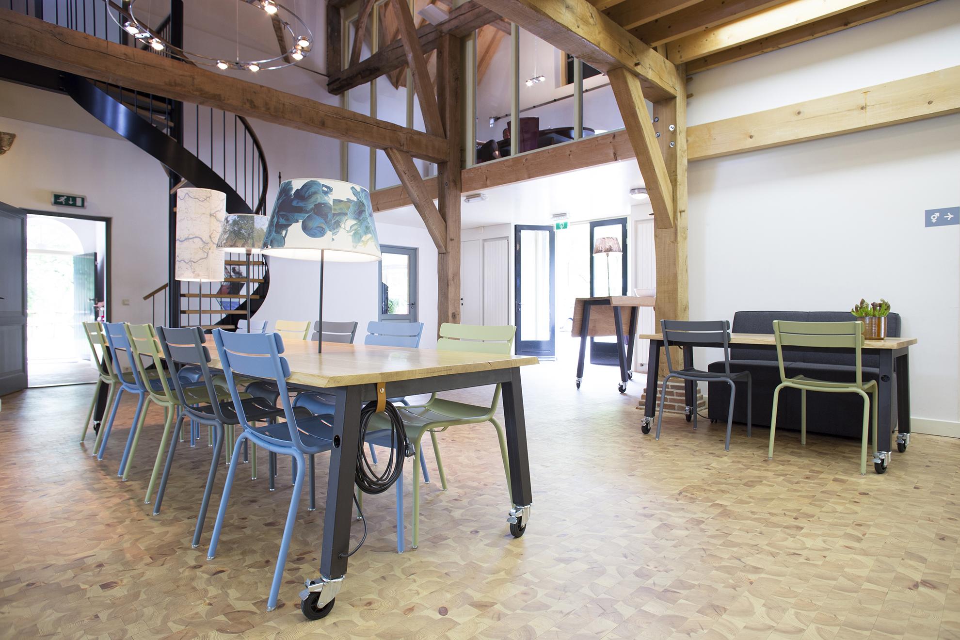 Koetshuis P2 herinrichting concept stroming
