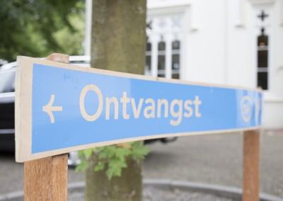 koetshuis bewegwijzering buiten door Dirk vd Heuvel