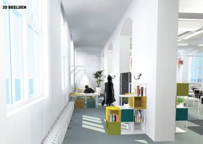 4 visual grote ruimte binnenkomst