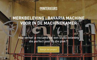 Merkbeleving Bavaria Machine Machinekamer