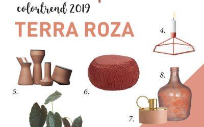 11 hippe woonproducten in de trendkleur van 2019 Terra Roza